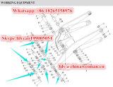 Sdlg 본래 LG952 LG953 LG956 LG958 로더는 O-Ring Lgb308-128*12 4043000059를 분해한다
