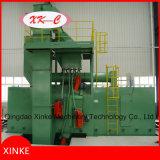 Máquina del chorreo con granalla de la estructura de acero de la viga de H