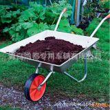 Ferramenta do jardim com Wheelbarrow quadrado