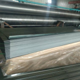 hoja de acero acanalada galvanizada fina del material para techos de la placa de acero de 0.14m m
