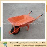 Wheelbarrow popular Wb6502 da construção do mercado de Nigéria