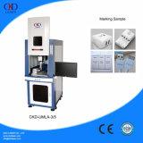 Máquina de gravura de marcação UV automática selada do laser de vidro do laser