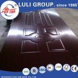Кожа двери меламина HDF Veneer от группы Китая Luli