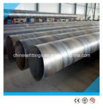 Carbono, aleación de acero en espiral de tubos con costura (SAW / DSAW / LSAW)