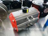 압축 공기를 넣은 액추에이터 웨이퍼 나비 벨브