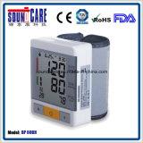 ABS箱が付いているスマートな身につけられる手首の血圧のモニタ(BP 60BH)