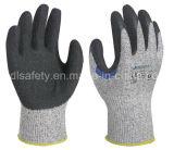 Усилено Анти--Отрежьте перчатку работы с естественный окунать латекса (LD8050)