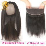 브라질 Virgin Hair  360  Lace  Frontal  마감 22*4*2