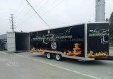 習慣食料調達の速い配達食糧移動式台所通りの食糧トラックの移動式食糧トレーラー