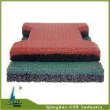 Couvre-tapis en caoutchouc bon marché d'étage pour l'usage extérieur