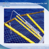 Engranzamento decorativo da corda de fio do aço inoxidável da proteção