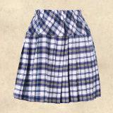 Uniforme sexy adulte de fille d'école de jupe plissé par uniforme scolaire sexy de jeune fille bel et de chemise de lacet