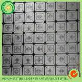 плита нержавеющей стали 304 отделки 201 волосяного покрова 0.3-3mm толщиная холоднопрокатная