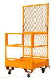Plataforma de funcionamento no Forklift da capacidade 300kg