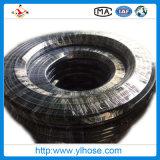 4sh 1-1/4 31mm s'est développé en spirales le boyau hydraulique en caoutchouc