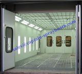 Giù cabina della vernice della cambiale/cabina di spruzzo/contenitore vernice dell'automobile