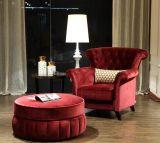 熱い販売の腰掛けが付いている安いホテルアーム椅子