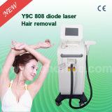 Máquina permanente del retiro del pelo del laser del diodo permanente 808nm de Y9c con talla de punto grande