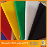 Colorir a folha acrílica plástica acrílica da folha PMMA do plexiglás