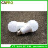 Nuevo diseño plástico y bulbo E27 del aluminio 12V 9W LED para nosotros y Europa