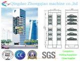 Sistema cúbico do estacionamento do equipamento do estacionamento do elevador vertical