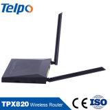 Da HOME sem fio da rede do router das conexões a internet instalação sem fio do router de WiFi