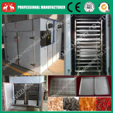 De volledige Machine van het Dehydratatietoestel van de Spaanders van de Kokosnoot van het Dienblad van de Hete Lucht van het Roestvrij staal