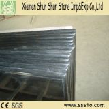 Partes superiores pretas da vaidade do granito de Shanxi para o banheiro