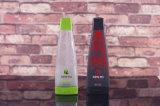 Bottiglie di vetro di alcoolici eccellenti su ordine del silice con la decorazione