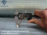 Verwendet für Edelstahl 304 des Ölraffinierens 20mesh Draht wickelte Bildschirm-/Keil-Draht-Bildschirm ein