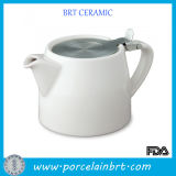 Teapot di ceramica con Stainless Steel Infuser