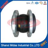 Conjunto de expansión DN200 sola esfera de goma con bridas de metal
