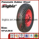 판매를 위한 구타 가격 4.00-8 압축 공기를 넣은 고무 바퀴