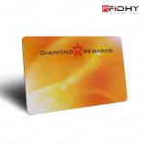 Cartão Dourado Opcional da Impressão de Cor RFID do Preço de Fábrica