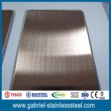 Hoja de acero inoxidable revestida 304 201 del color 0.5m m grueso promocional