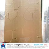 Vidrio de modelo de la hoja para el vidrio del edificio con buena cantidad