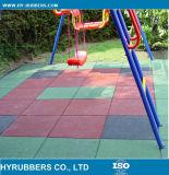 Mattonelle di pavimentazione di gomma per Playgound/le mattonelle della gomma pavimento del giardino