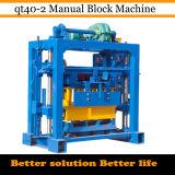 Machine manuelle creuse concrète de bloc (QT40-2)