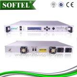 Transmisor óptico externamente modulado de la fibra 1550nm del poder más elevado