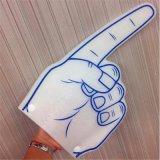 [لد] يشعل فوق زبد أصابع مع علامة تجاريّة يطبع