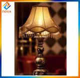 Lámpara de vector material moderna de la resina de la decoración de la sala de estar y lámpara de suelo