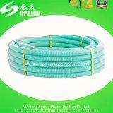 Tuyau en plastique flexible coloré d'aspiration de PVC