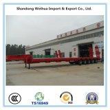 60t aan 150t 5 Semi Aanhangwagen van de Vrachtwagen Lowbed van Assen de Op zwaar werk berekende