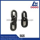 Peinture noire soudée d'acier allié fouettant la chaîne G80