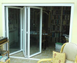Aluminum clásico Folding Door (Internal Blinds o Shutters)