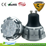 Aluminium MR16 B22 E27 GU10 6W LED Spot Light