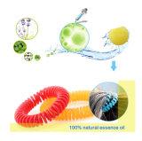 100%の自然な本質オイルのカの防水加工剤のブレスレット