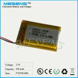 3.7V 570mAh Lithium-Plastik-Batterie