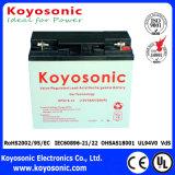 Batterie d'acide de plomb rechargeable d'UPS 12V scellée par 100ah pour le système de sauvegarde