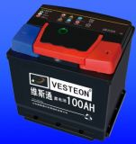 batería de coche sin necesidad de mantenimiento de 12V frecuencia intermedia